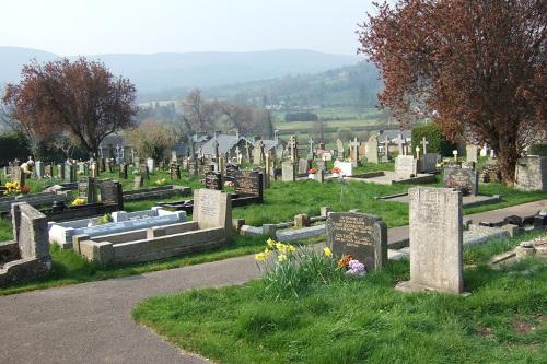 Oorlogsgraven van het Gemenebest Crickhowell Cemetery