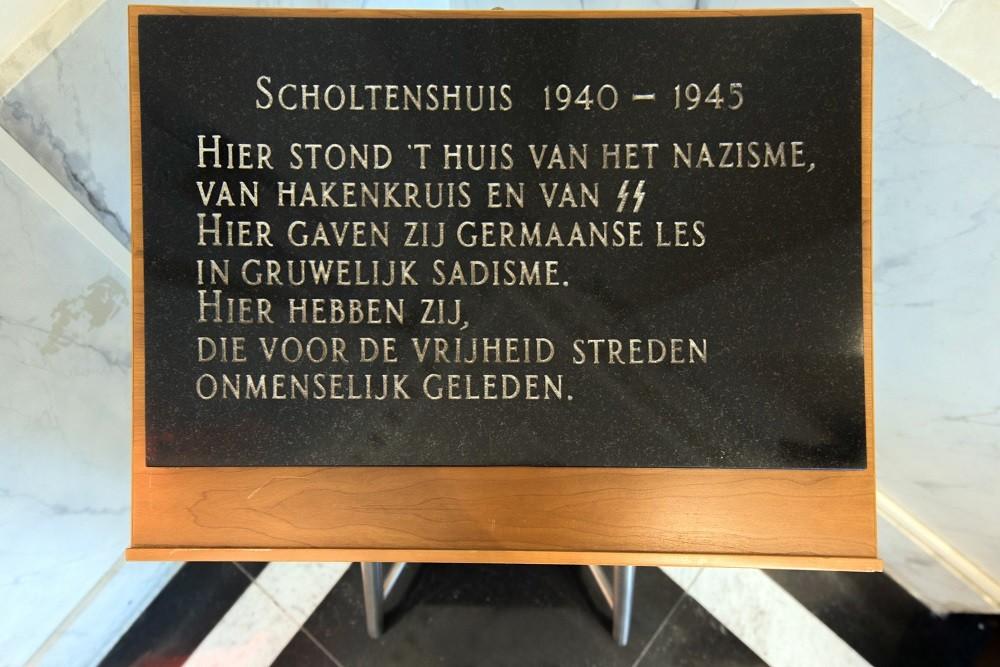 Plaque Scholtenshuis