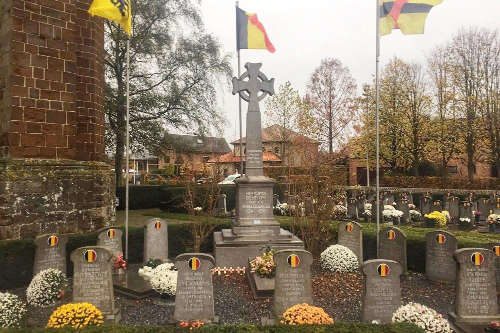 Belgian War Graves Vorst-Laakdal
