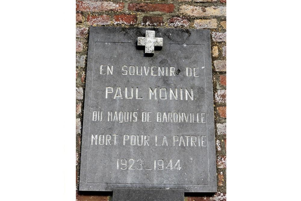 Plaquette Paul Monin