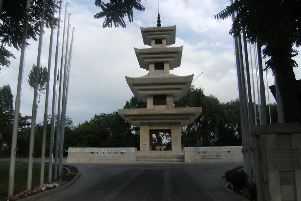 Turkse Korea Martelaren Monument