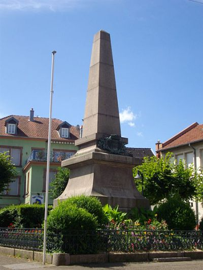 War Memorial Sarrebourg