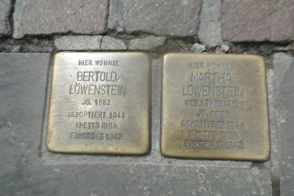Stumbling Stones Osterstraße 48-50