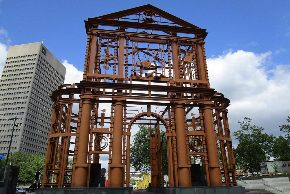 Memorial 50 years Reconstruction Rotterdam
