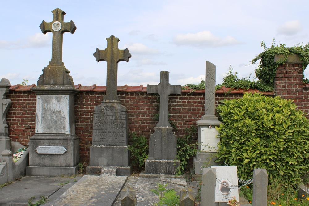 Belgische Oorlogsgraven Blicquy