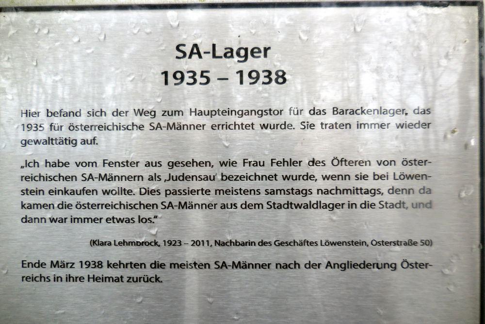 Stadwaldlager Bocholt / Stalag VI-F