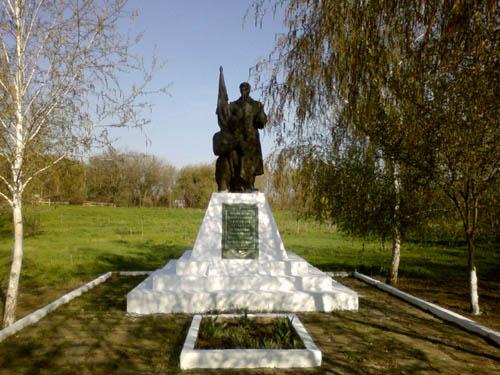 Massagraf Sovjet Soldaten Dmytrivka (Berdyansk)