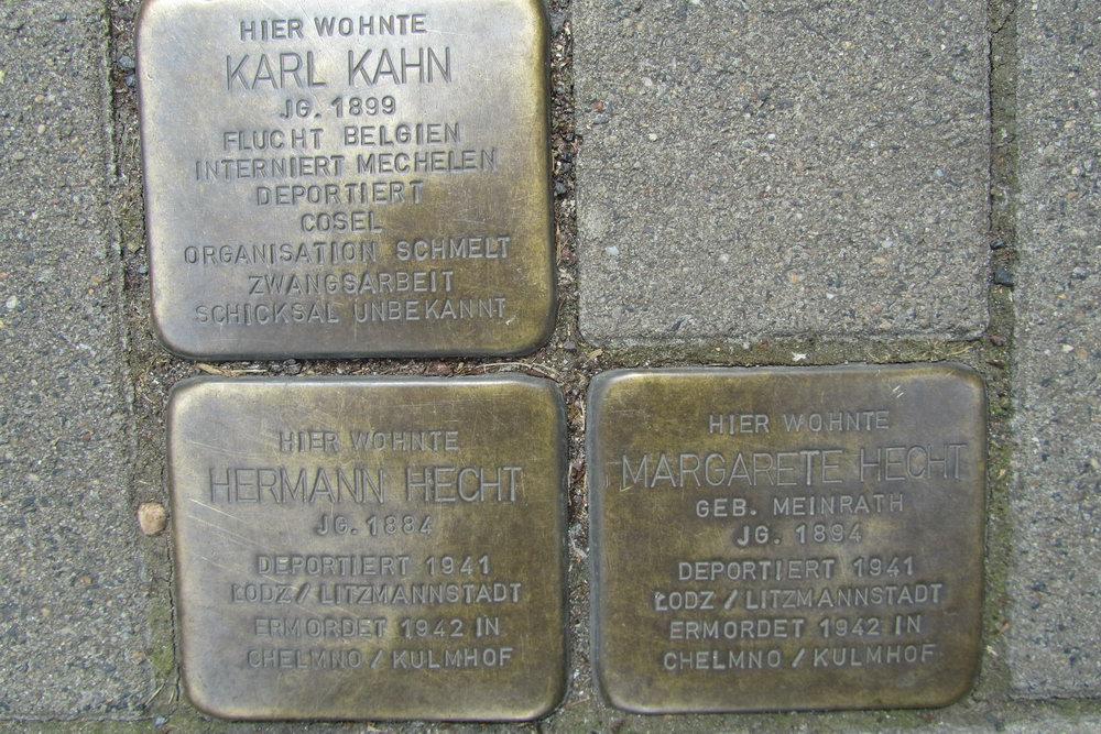 Stolpersteine Brandenburger Straße 26