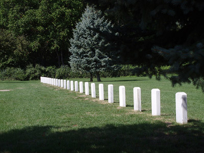German POW Graves Fort Custer