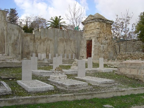 Commonwealth War Graves Jerusalem Latin Cemetery