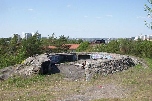 Anti-aircraft Battery Skanskvarn & Tank Barrier