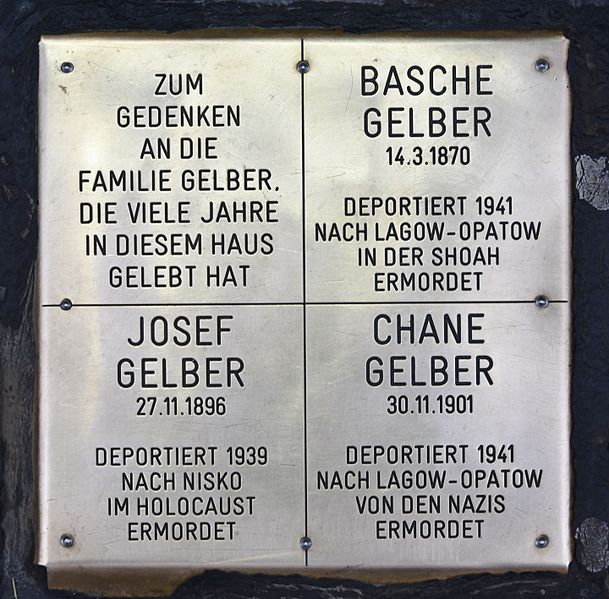 Gedenksteen Neubaugasse 21