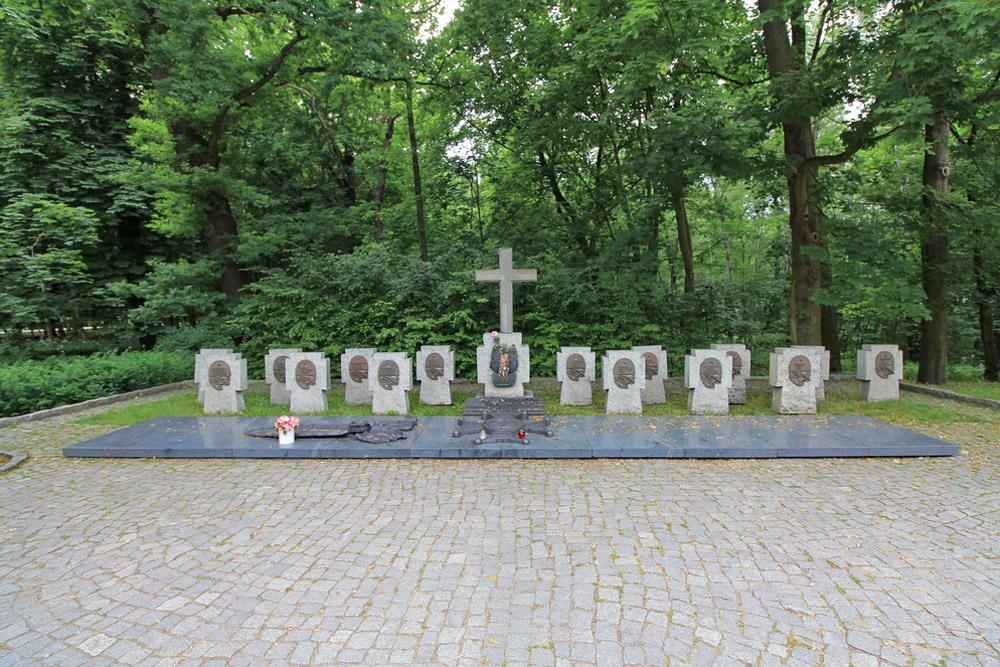 Symbolic Polish War Cemetery Westerplatte & Grave Sucharski