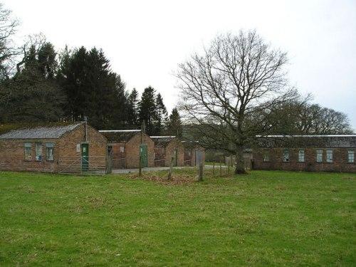 Buildings Prisoner-of-War Camp Henllan