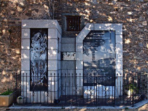 War Memorial Antisanti