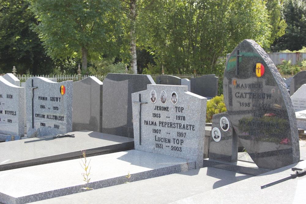 Graven Oudstrijders Westvleteren