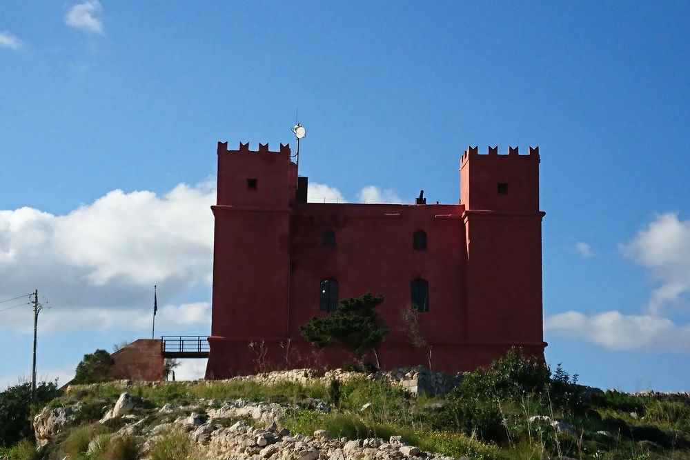 Saint Agatha's Tower (Red Tower)