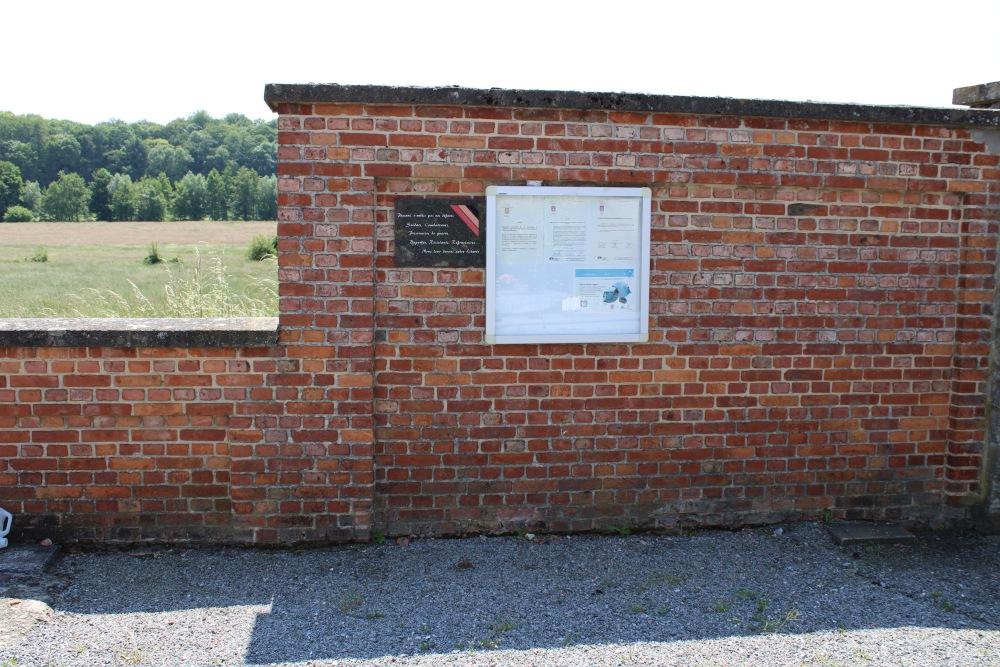 Memorial Plaque Cemetery Fallais