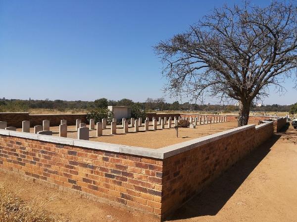 Commonwealth War Graves Kristiansand Bulawayo Cemetery