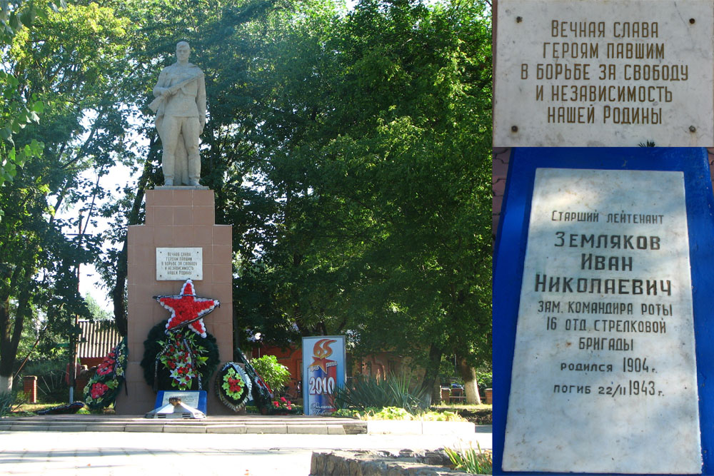 Mass Grave Soviet Soldiers Chernomorski