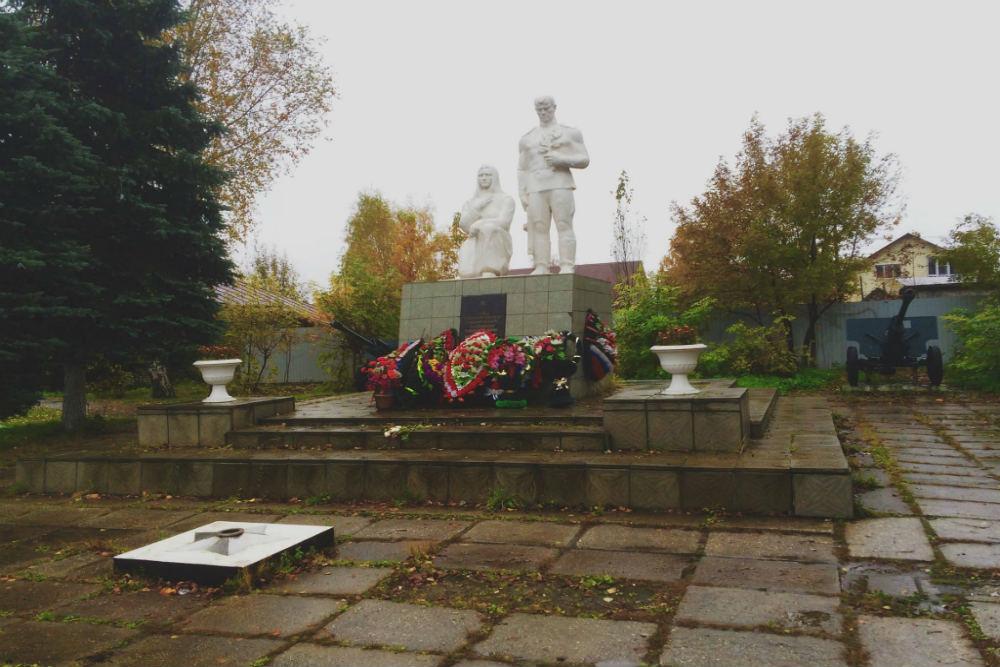 Oorlogsmonument Soldaten Pokrov