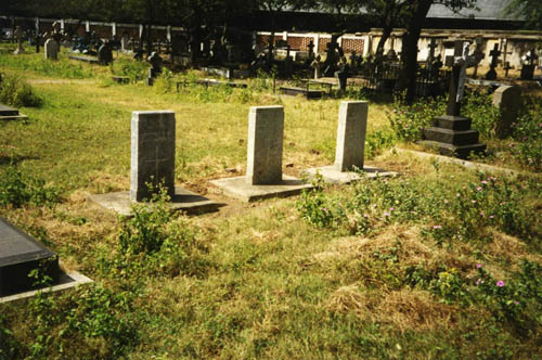 Commonwealth War Graves Madras (St. Patrick's)