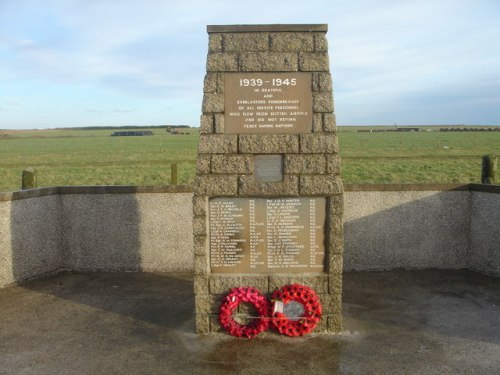 Monument RAF Skitten (Operation Freshman)