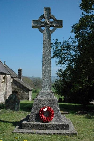 War Memorial Llangybi