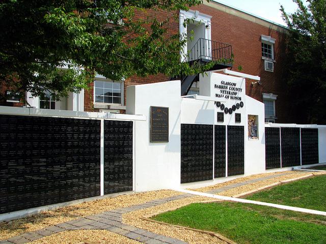 Veterans Wall of Honor Barren County