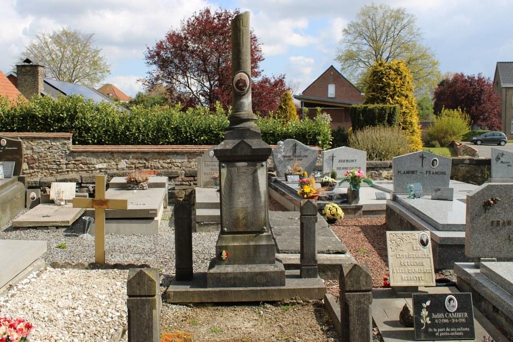 Belgian War Grave Wadelincourt