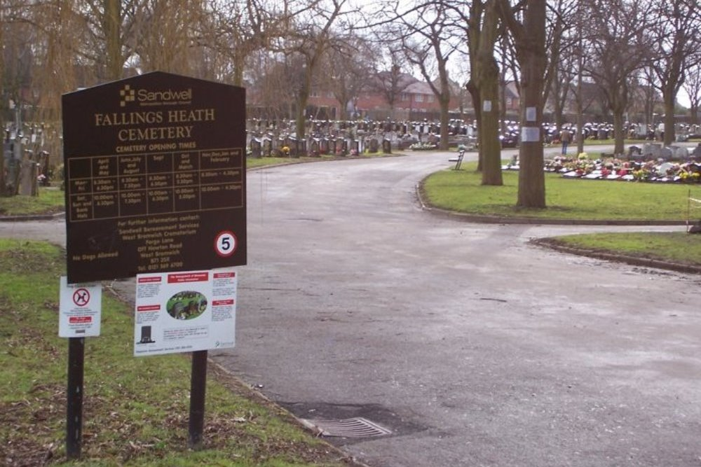 Commonwealth War Graves Fallings Heath Cemetery