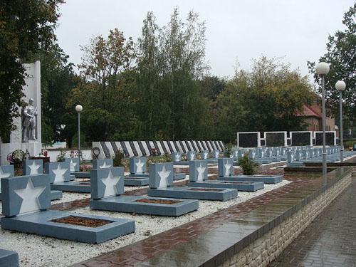 Soviet  War Cemetery Akciabrski