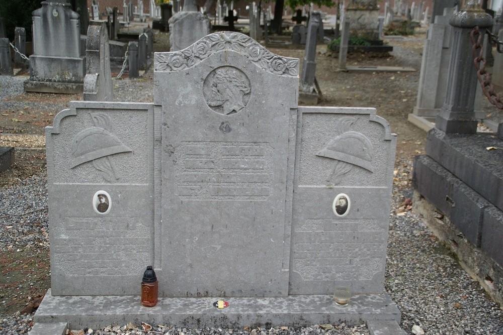 Belgische Oorlogsgraven Begraafplaats Wellen