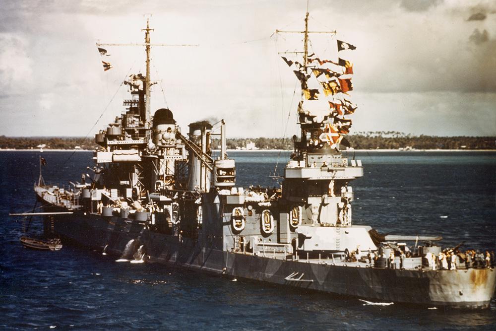 Shipwreck USS Quincy (CA-39)