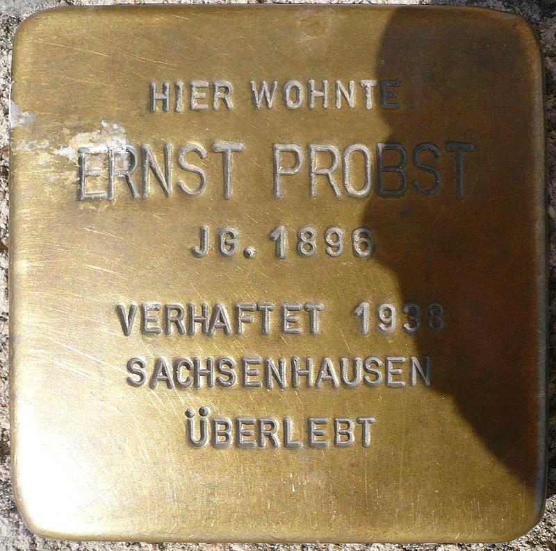 Stolperstein Große Straße 30