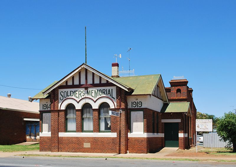 War Memorial Hall Wyalong