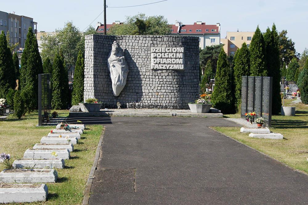 Graves Victims Labor Camp Szmalcówka
