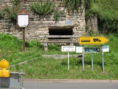 Westwall - MG-Bunker Wallendorf