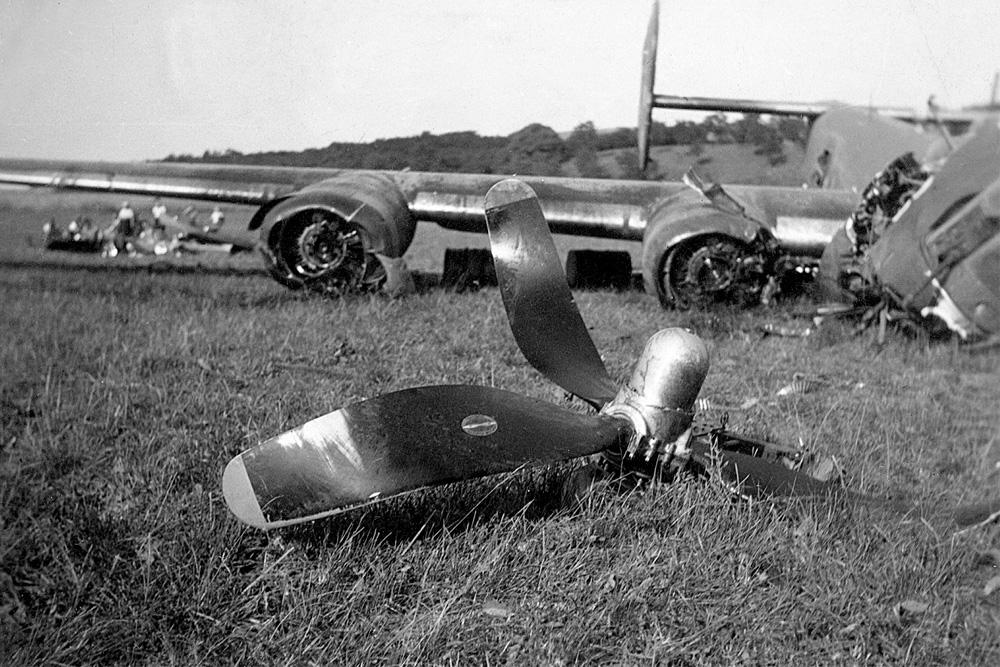 Crash Site Consolidated B-24H Liberator
