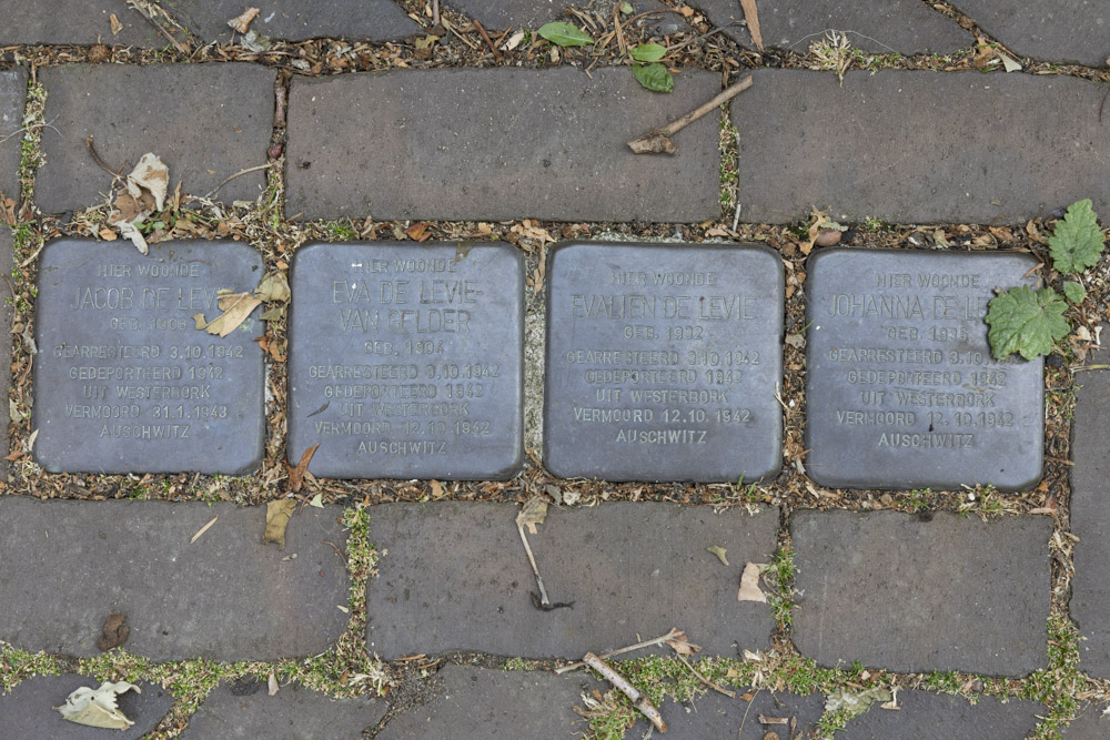 Stolpersteine Kerkplein 6