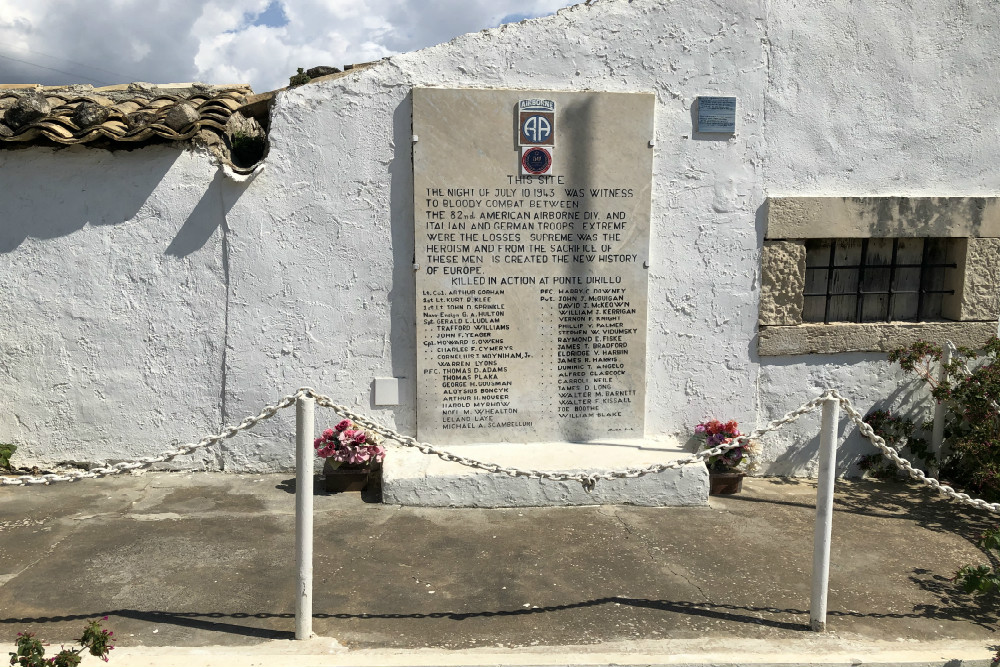 82nd Airborne Monument Ponte Dirillo