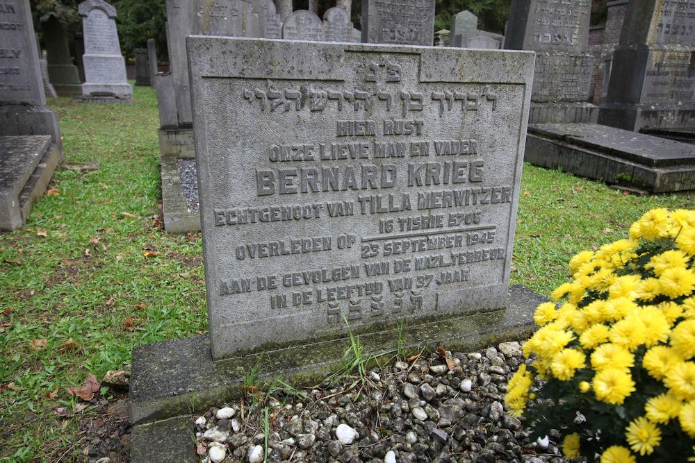 Jewish War Graves General Cemetery Maastricht
