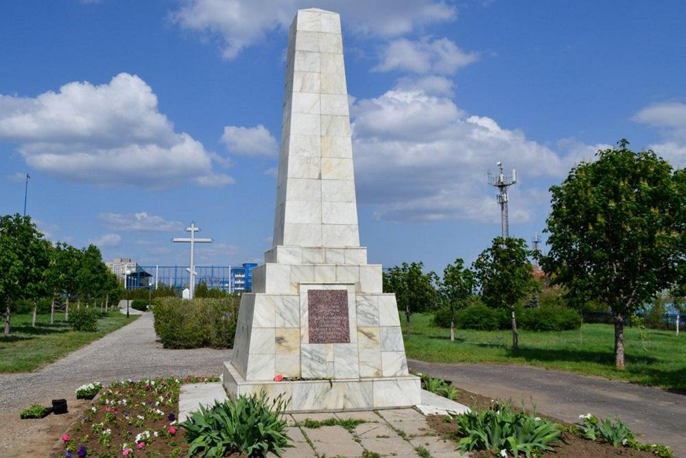 Massagraf Sovjet Soldaten Volgograd