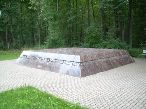 Mass Grave Soviet Soldiers Jõgeveste