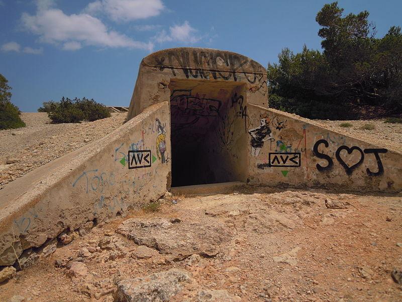 Connection Tunnel Sa Caleta