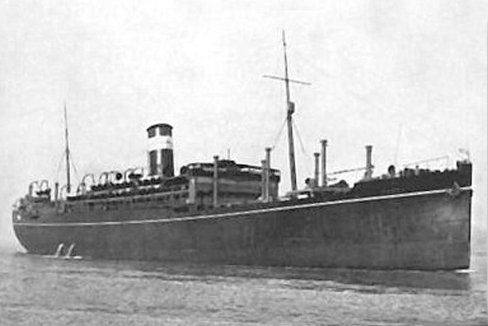 Shipwreck H.M.T. Rohna