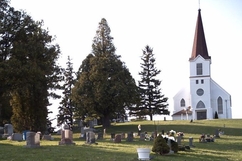 Amerikaans Oorlogsgraf Evergreen Cemetery