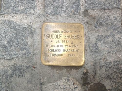 Stumbling Stone Brodgasse 1