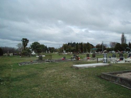 Oorlogsgraven van het Gemenebest Tuahiwi Chief Maori Cemetery