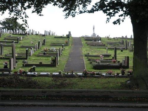Oorlogsgraven van het Gemenebest Conisbrough Cemetery